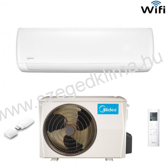 Midea Mission DC inverteres h�szivatty�s kl�ma 2015