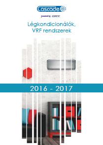 CASCADE klíma 2017 magyar nyelvű katalógus