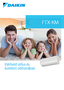 DAIKIN comfort ftx-km 2017 magyar nyelvű katalógus