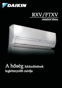 DAIKIN oki kl�ma FTXV RXV  katal�gus 2014!