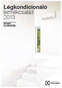 ELECTROLUX kl�ma 2013 magyar nyelv� katal�gus