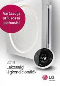 LG klíma 2014 magyar nyelvű katalógus