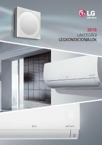 LG klíma 2016 magyar nyelvű katalógus