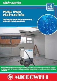 MICROWELL mobil ipari páramentesítő 2010 magyar nyelvű katalógus