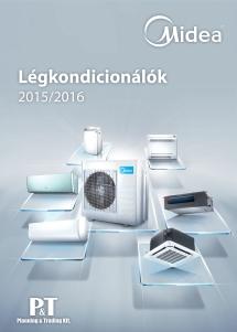 MIDEA variálható multi klíma 2015 magyar nyelvű katalógus