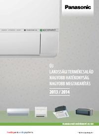 PANASONIC kl�ma 2013 magyar nyelv� katal�gus