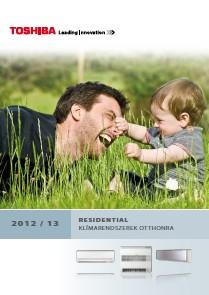 TOSHIBA kl�ma 2012 magyar nyelv� katal�gus