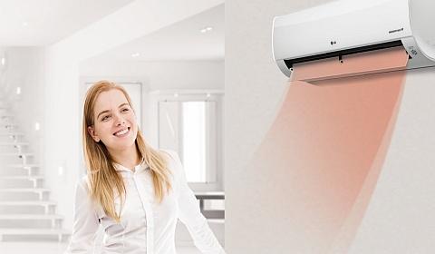 LG Athena DC inverteres hőszivattyús klíma