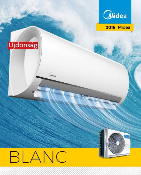 Midea Blanc 2016 inverteres hőszivattyús klíma